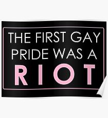 Riot Pride #2 Poster