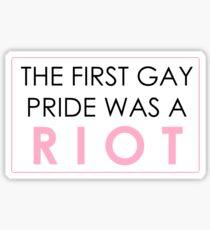 Riot Pride #1 Sticker
