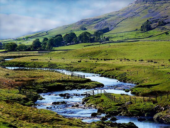 A View of a Dale by Colin Metcalf