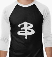 Buffy The Vampire Slayer 'B' v2.0 Men's Baseball ¾ T-Shirt