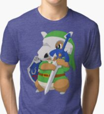 Cubone's cosplay Tri-blend T-Shirt
