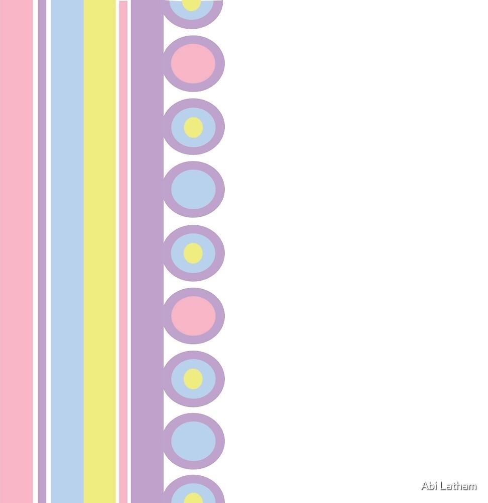 pastel pattern by Abi Latham