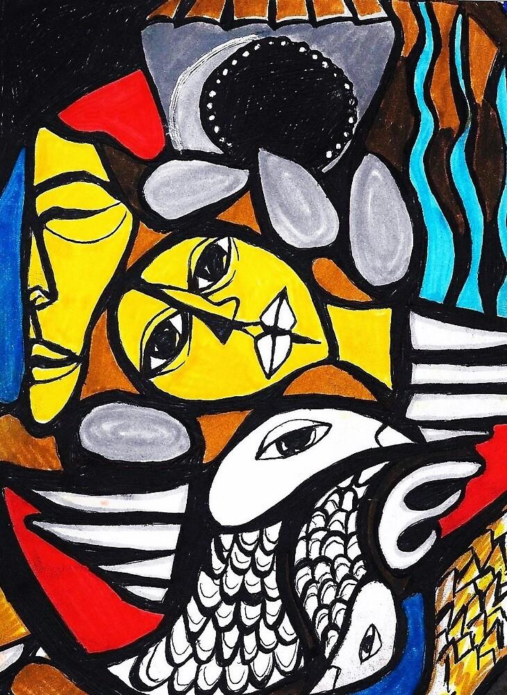 Moroccan Art Print by EllieKD