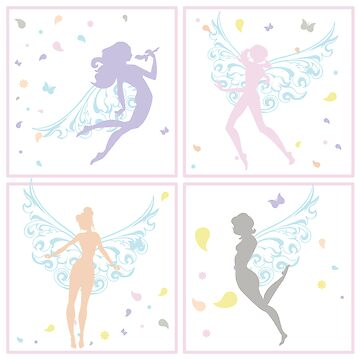 Fairies - pastel by retrocharm