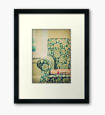 chair love Framed Print