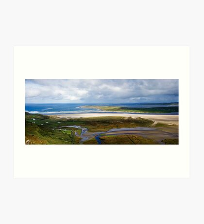 Loughros bay Art Print