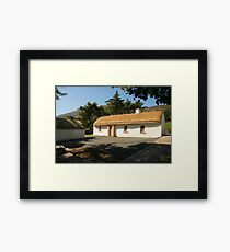 Glencolmcille cottage Framed Print