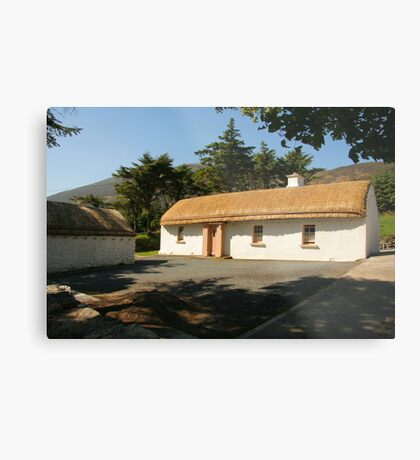 Glencolmcille cottage Metal Print