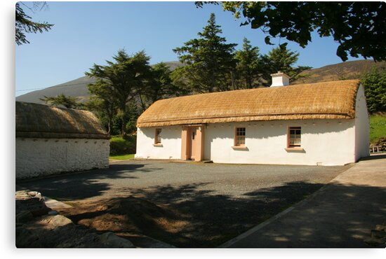 Glencolmcille cottage by conalmcginley