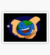 Small world Sticker