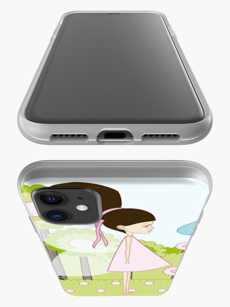 Alternate view of Antoinette, the Fairy of the Mushroom iPhone Case & Cover