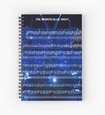 The Mirror - Blue Night - Spring Awakening Spiral Notebook