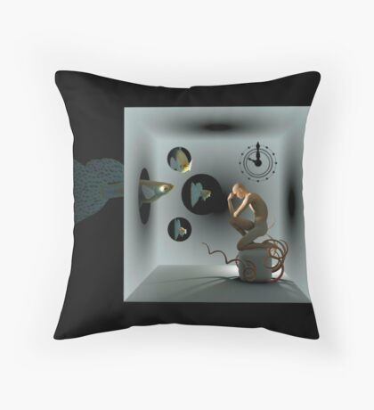 Dreaming Of Fish Throw Pillow