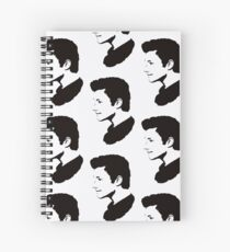 Chris Colfer pop art Spiral Notebook