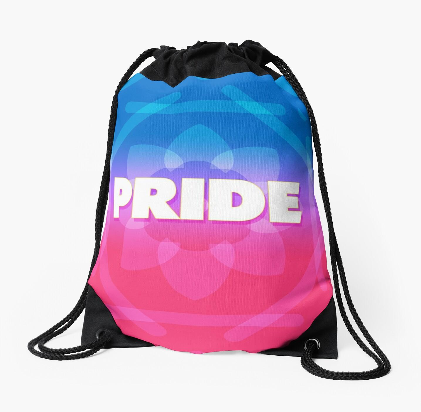 Bi Pride Pattern by Tom Ingles
