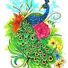 Peacock by Adamzworld