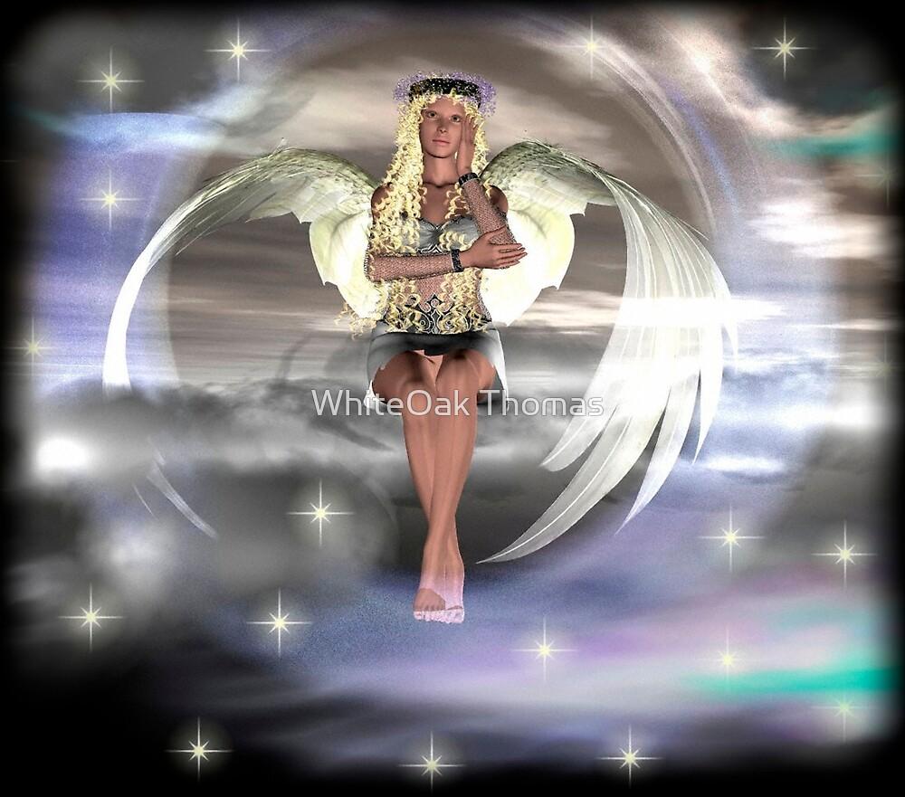 Angel on a Cloud by WhiteOak Thomas