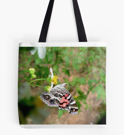 AMERICAN LADY ON SPANISH NEEDLES Tote Bag