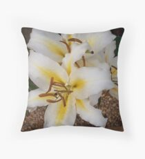 lilly pilly Throw Pillow