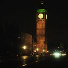 Big Ben London by Anthony Hennessy