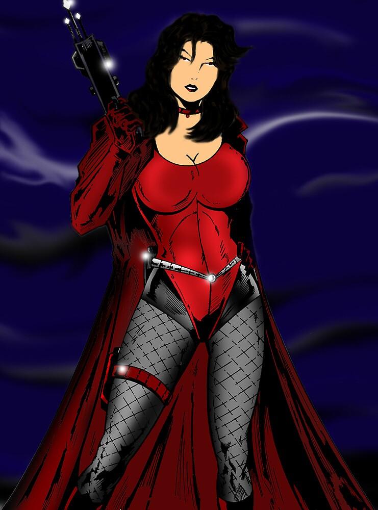 Eden Van Helsing by redskyeworld