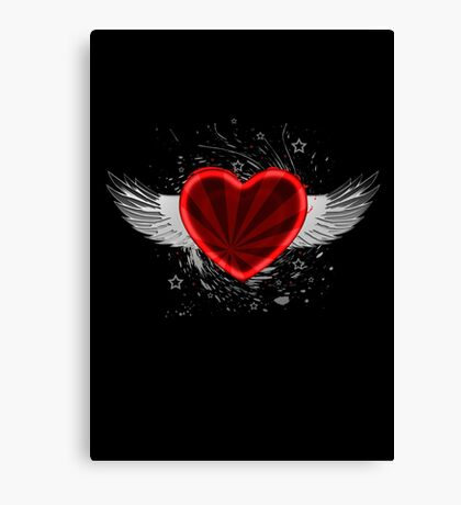Wing Heart Canvas Print