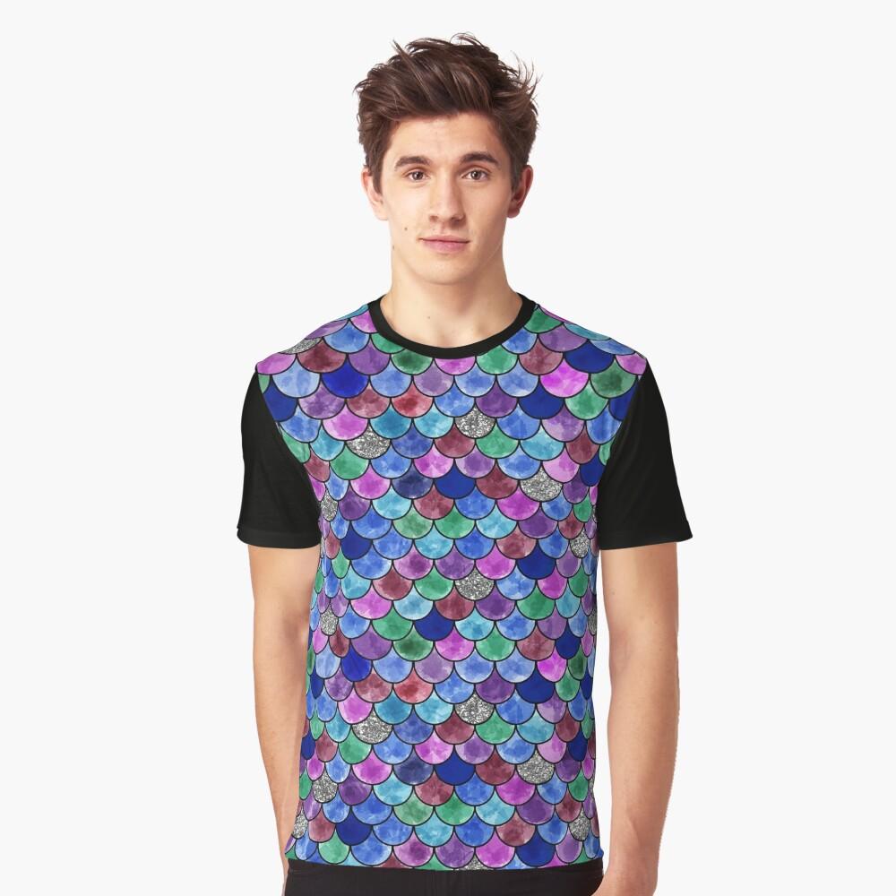 Rainbow Fish Graphic T-Shirt