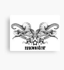 MonStar - Poseidon's Mask Canvas Print