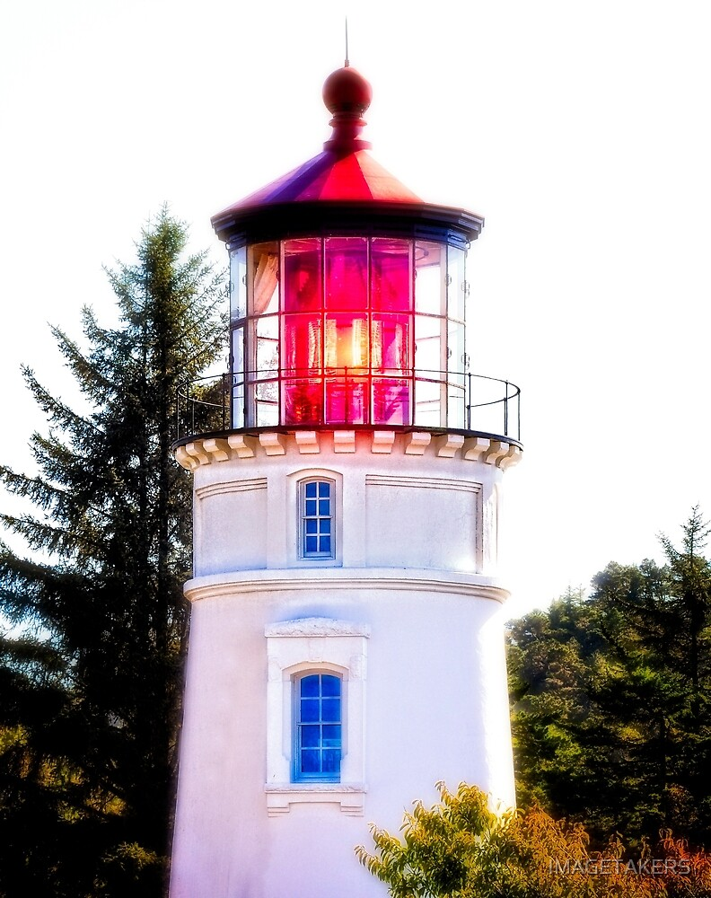 Umpqua River Lighthouse - Winchester Bay by IMAGETAKERS