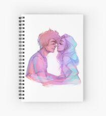 Lilac Sky Spiral Notebook
