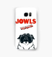 JOWLS Pug Movie Poster Parody Samsung Galaxy Case/Skin