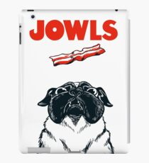 JOWLS Pug Movie Poster Parody iPad Case/Skin