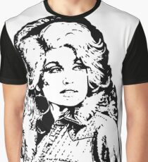 SUSUKENTAL Dolly Parton painting Graphic T-Shirt