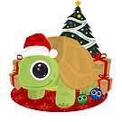 Christmas - Turtle by Adamzworld