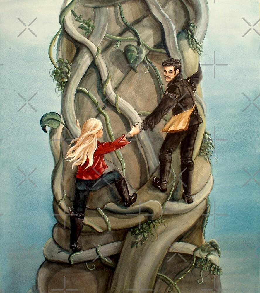 First Beanstalk? by Sarah  Mac Illustration