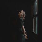 Dreamy Girl In Window Light by MadliArt