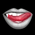 VAMPIRE LIPS - WHITE (2) by Adamzworld