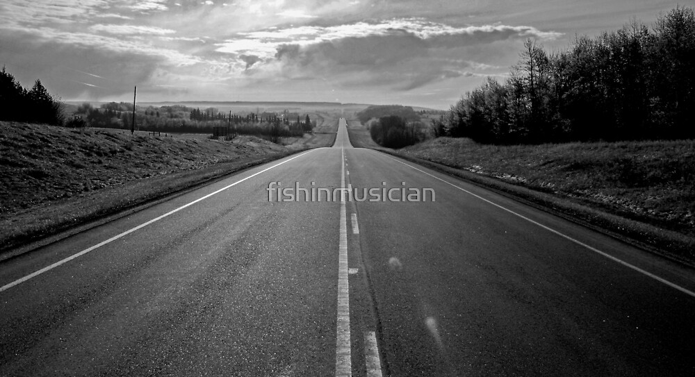 morning hiway by fishinmusician