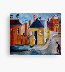 outer suburb Canvas Print