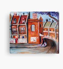 inner suburb Canvas Print