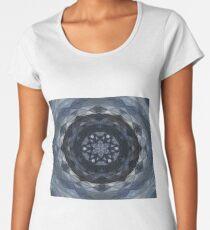 Feeling Blue Kaleidoscope Premium Scoop T-Shirt