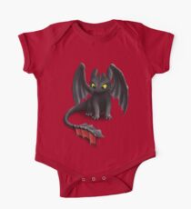 Toothless, Night Fury Inspired Dragon. Kids Clothes