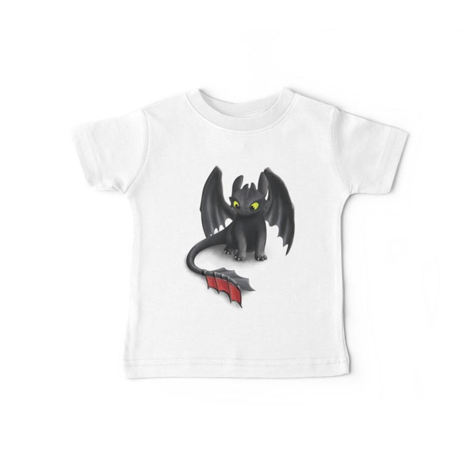Toothless, Night Fury Inspired Dragon. by Art Landing