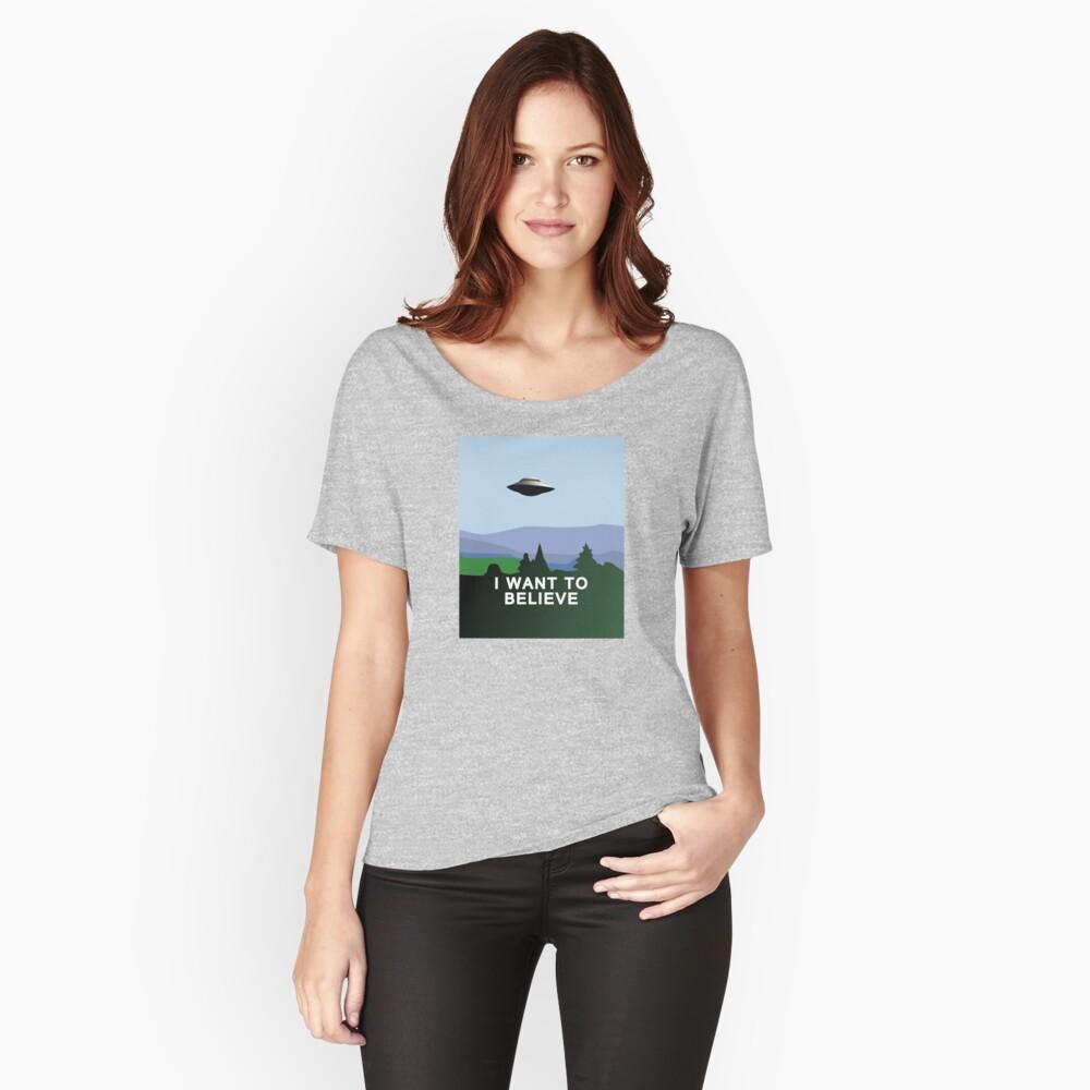 Quiero creer Camiseta ancha