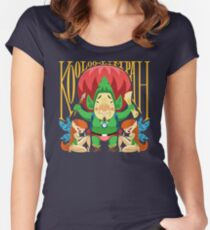 Tingle Women's Fitted Scoop T-Shirt