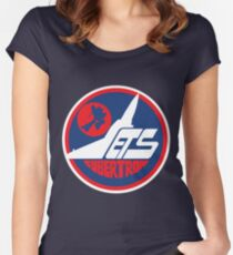 Cybertron Jets - Away Women's Fitted Scoop T-Shirt