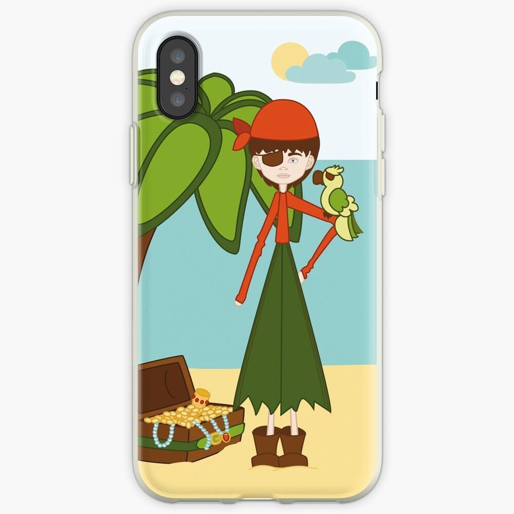 La Pirata Renata Funda y vinilo para iPhone