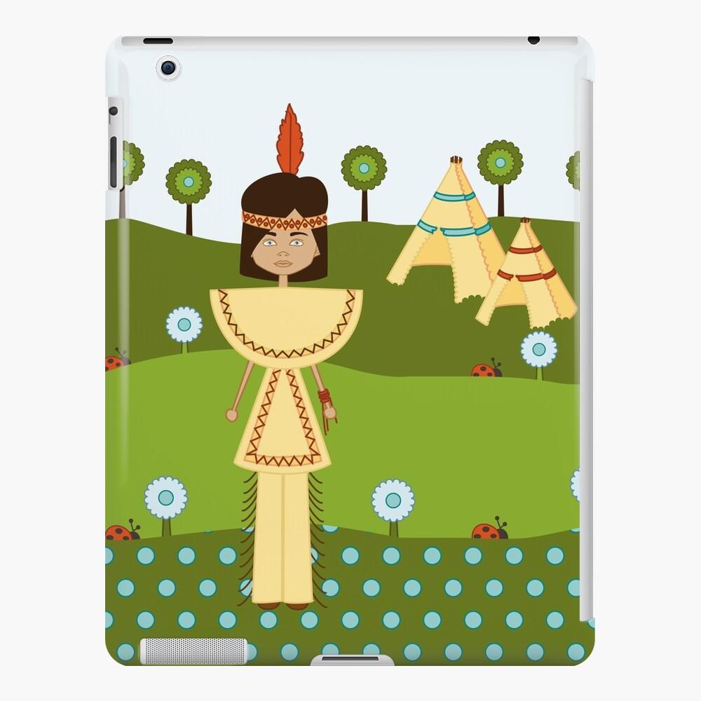 Borja, el Indio de la Pluma Roja Funda y vinilo para iPad