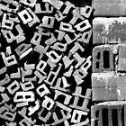Letters ,Bricks by Stefan Kutsarov