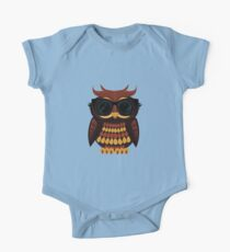 Cool Owl One Piece - Short Sleeve